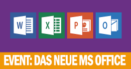 Office Event am 2. November - Neues Microsoft Office wird vorgestellt