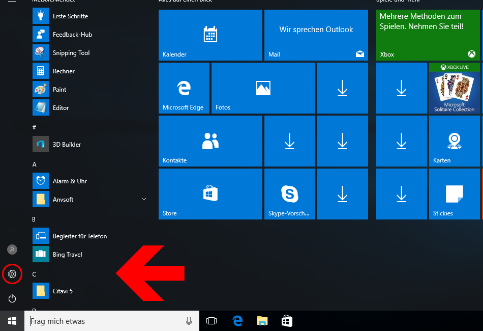 windows-10-startmenue-einstellungen